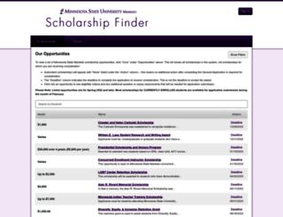 mnsu.academicworks.com screenshot