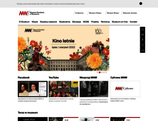mnw.art.pl screenshot