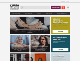 mnw.kvinfo.dk screenshot