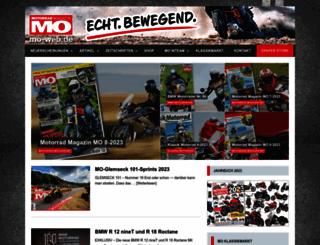 mo-web.de screenshot