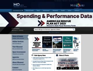 mo.gov screenshot