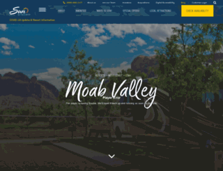moabvalleyrv.com screenshot
