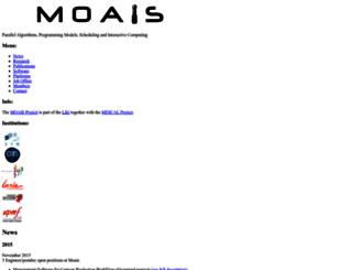 moais.imag.fr screenshot
