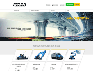 moba-automation.com screenshot