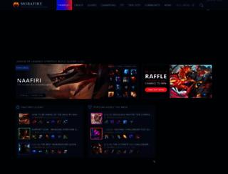 mobafire.com screenshot