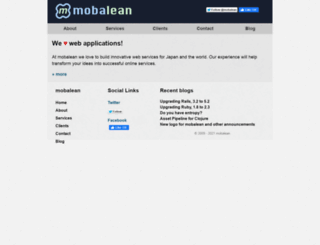 mobalean.com screenshot