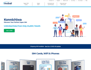 mobalrental.com screenshot