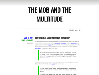 mobandmultitude.com screenshot