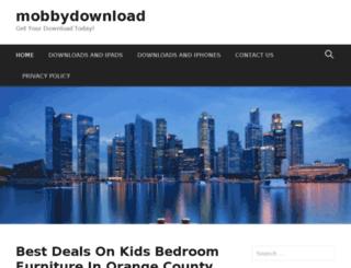 mobbydownload.com screenshot