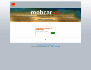 mobcar.co screenshot