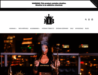 mobhookah.com screenshot