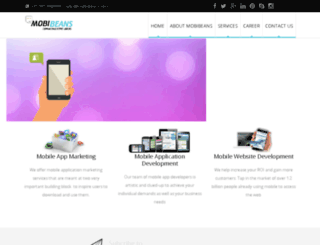 mobibeans.com screenshot