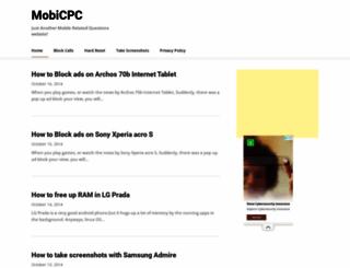 mobicpc.com screenshot