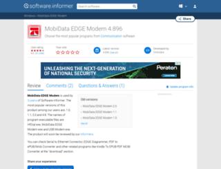 mobidata-edge-modem.software.informer.com screenshot