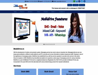 mobidrive.in screenshot