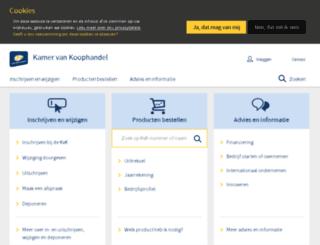 mobiel.kvk.nl screenshot