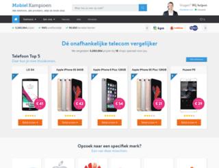 mobielkampioen.nl screenshot