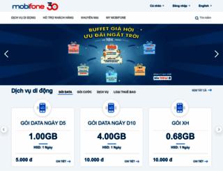 mobifone.vn screenshot