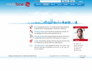 mobifone3g.com.vn screenshot