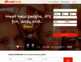 mobifriends.com screenshot