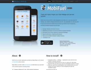 mobifuel.bajajallianz.com screenshot