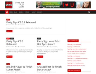 mobigamedepot.com screenshot