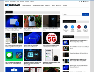 mobigyaan.com screenshot