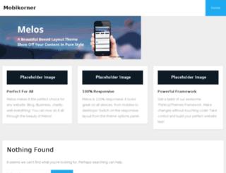 mobikorner.com screenshot