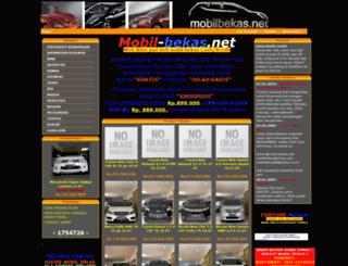 mobil-bekas.net screenshot