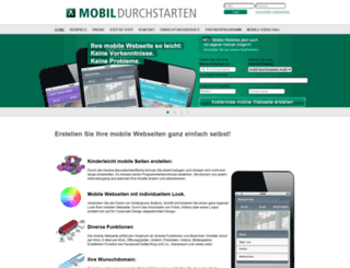 mobil-durchstarten.de screenshot