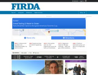 mobil.firda.no screenshot