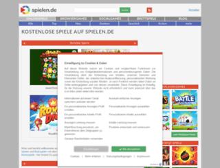 mobil.spielen.de screenshot
