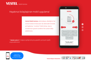 mobilasistan.vestel.com.tr screenshot