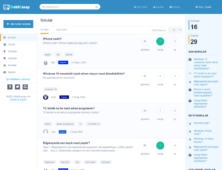 mobilcevap.com screenshot