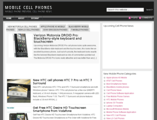 mobile-cell-phone.org screenshot