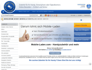 mobile-laden.eu screenshot