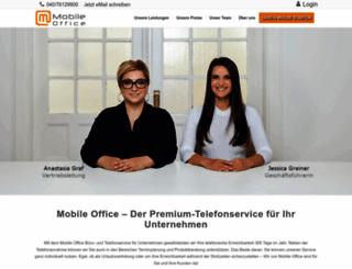 mobile-office.de screenshot