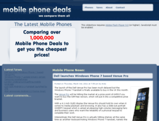 mobile-phonedeals.com screenshot