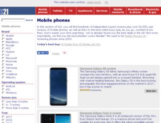 mobile-phones-uk.org.uk screenshot