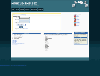 mobile-sms.biz screenshot