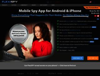 mobile-spy.com screenshot