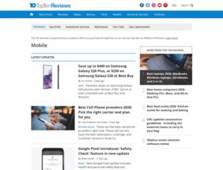 mobile-technology.toptenreviews.com screenshot