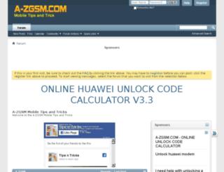mobile.a-zgsm.com screenshot