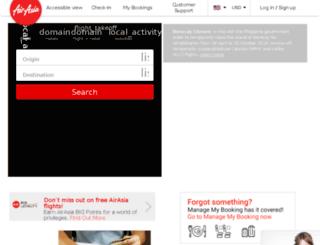 mobile.airasia.com screenshot