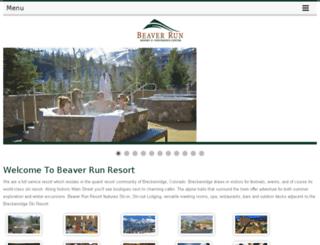 mobile.beaverrun.com screenshot