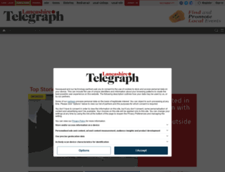 mobile.blackburncitizen.co.uk screenshot