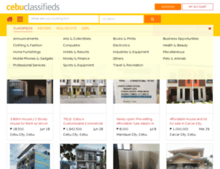 mobile.cebuclassifieds.com screenshot