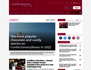 mobile.confectionerynews.com screenshot