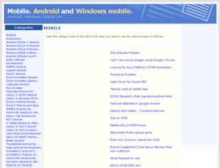 mobile.developer-works.com screenshot