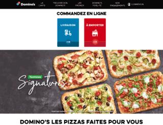 mobile.dominos.fr screenshot